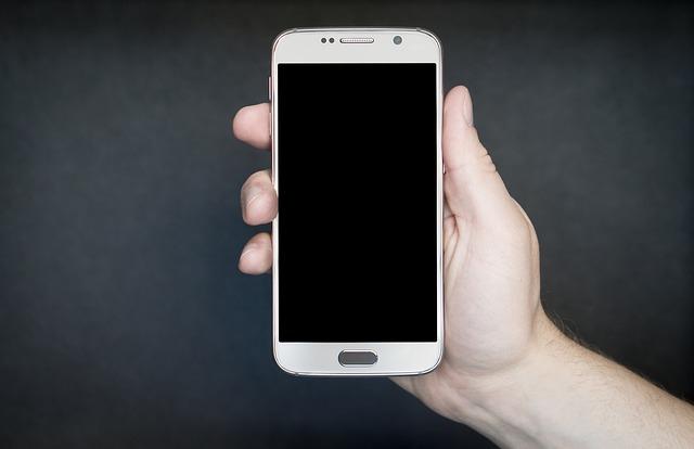 display telefonu