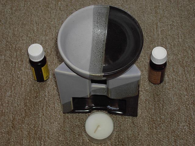 aromalampa a olejíčky