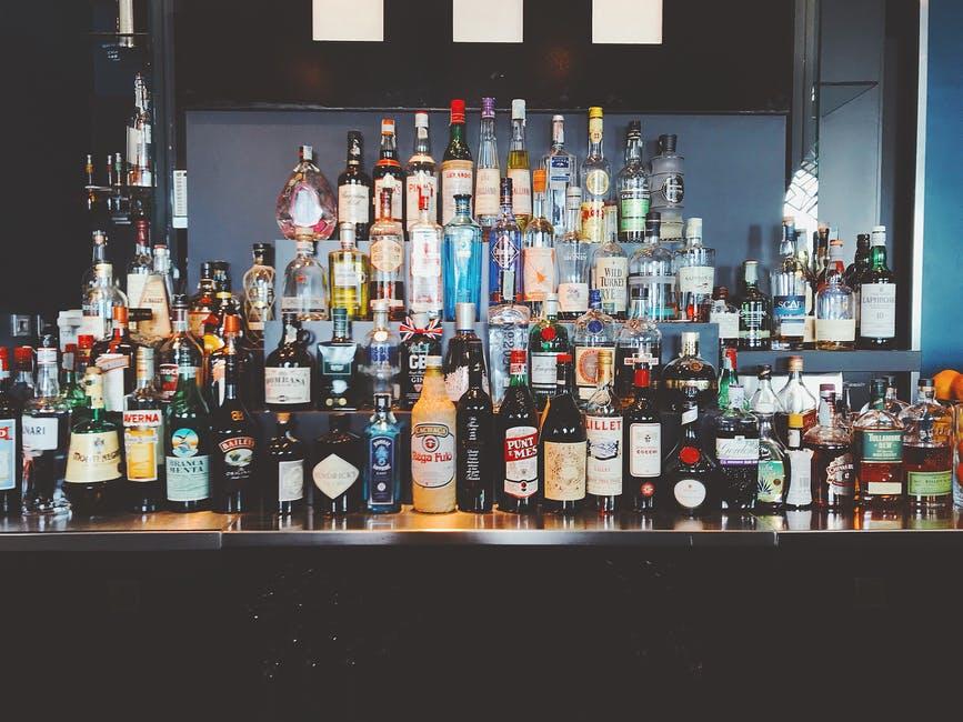 sbírka alkoholu